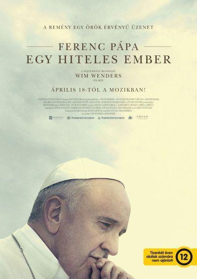 Ferenc pápa - Egy hiteles ember – Plakát