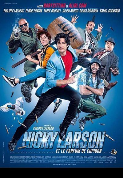 Nicky Larson - Ölni vagy kölni? – Plakát
