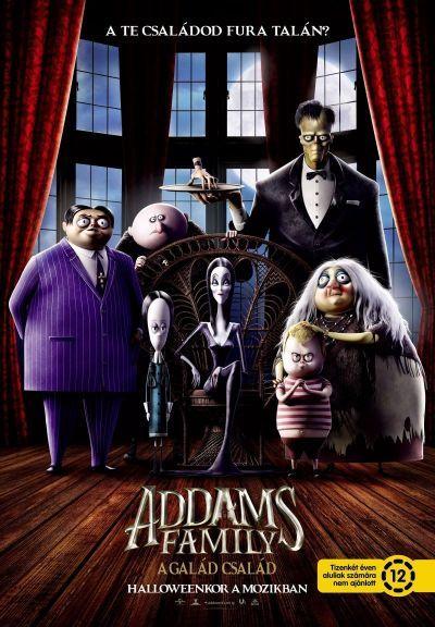 Addams Family – A galád család – Plakát