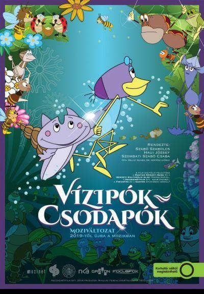 Vízipók-csodapók - a film – Plakát