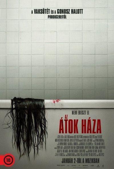 Az átok háza – Plakát