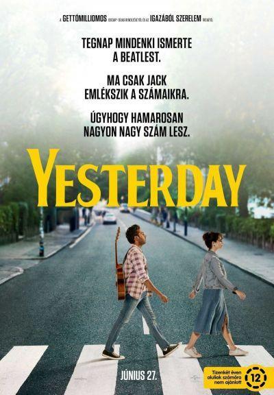 Yesterday – Plakát