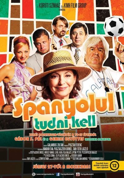 Spanyolul tudni kell – Plakát