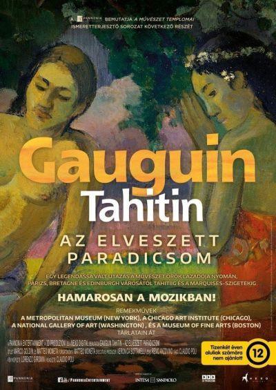 A művészet templomai: Gauguin Tahitin - Az elveszett paradicsom – Plakát
