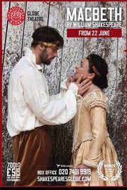 Macbeth - a Shakespeare's Globe előadása – Plakát