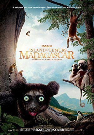 A makik szigete: Madagaszkár IMAX 3D – Plakát