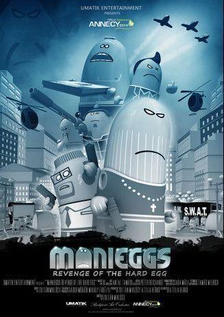 Manieggs - Egy kemény tojás bosszúja – Plakát
