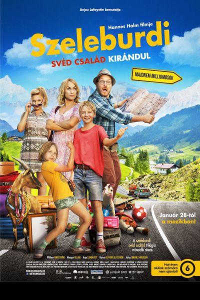 Szeleburdi svéd család kirándul – Plakát
