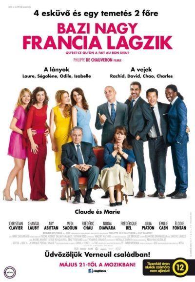 Bazi nagy francia lagzik – Plakát