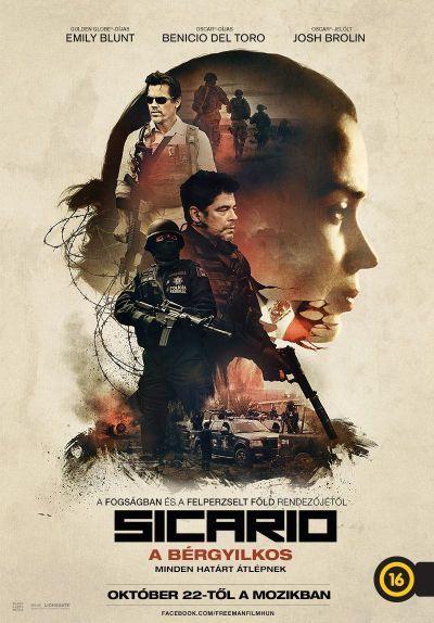 Sicario - A bérgyilkos – Plakát