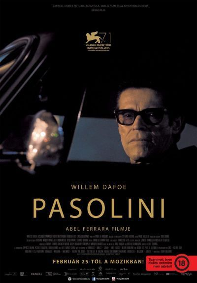 Pasolini – Plakát