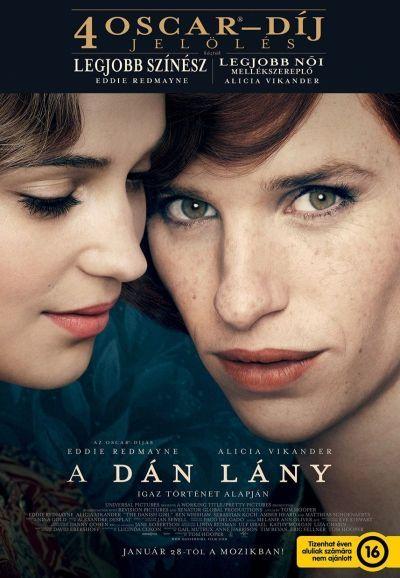 A dán lány – Plakát