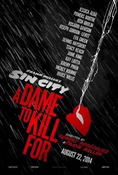 Sin City: Ölni tudnál érte – Plakát