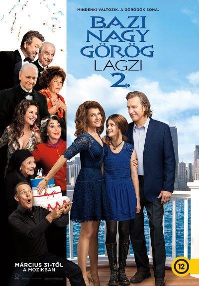 Bazi nagy görög lagzi 2. – Plakát