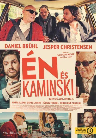 Én és Kaminski – Plakát