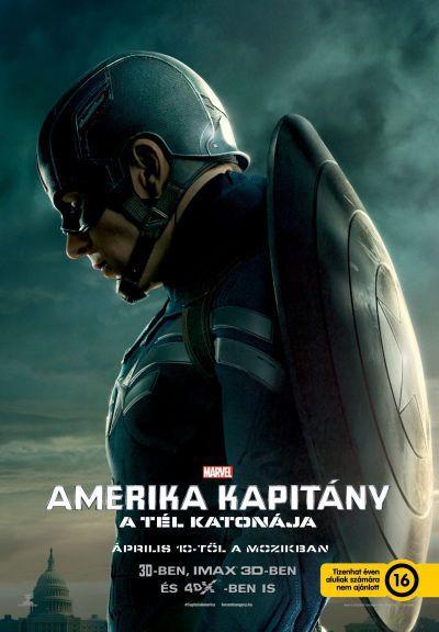 Amerika Kapitány: A tél katonája – Plakát